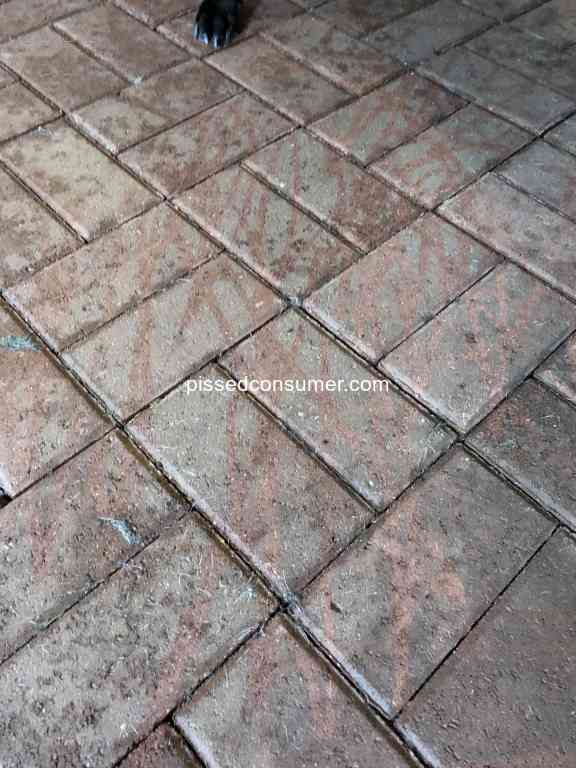 Stanley Steemer Horrible Tile Cleaning