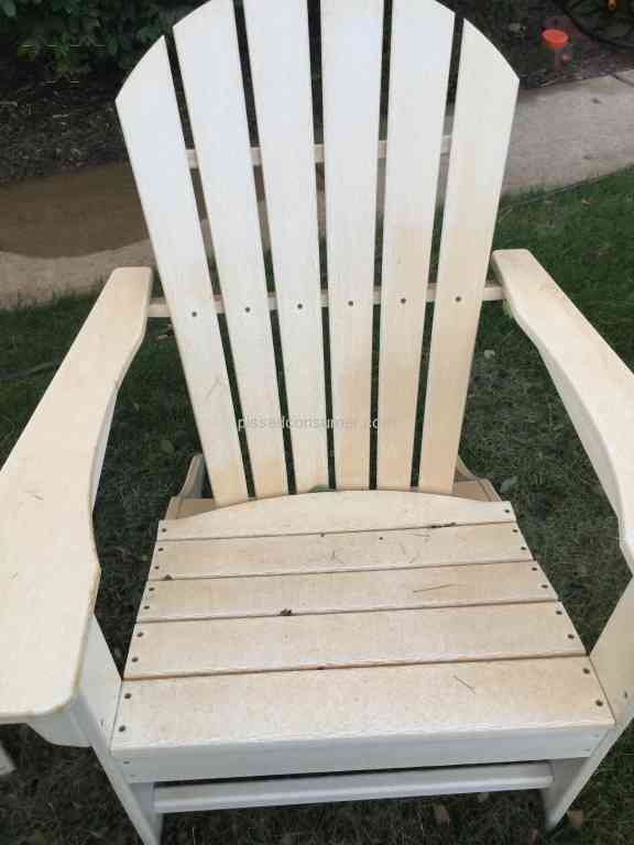 Polywood Furniture   Impossible To Clean