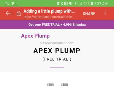 Apex Vitality Lip Plumper Free Trial review 257578
