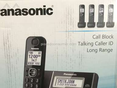 Panasonic Home Phone Review from Reno, Nevada