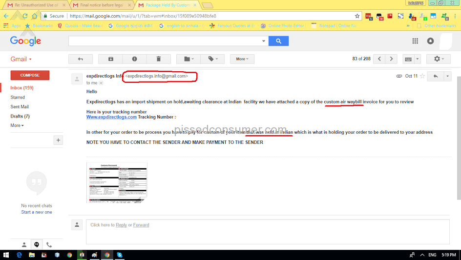 PayPal Does Not Honor Its Policy Dec Pissed Consumer - What is an invoice paypal chanel online store