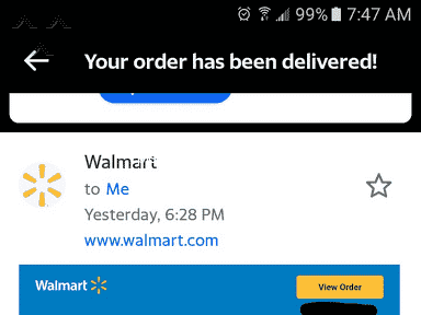 Walmart Delivery Service review 848488