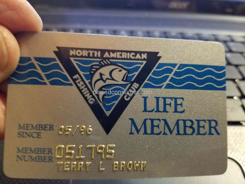 North american fishing club life membership apr 09 2018 for North american fishing club
