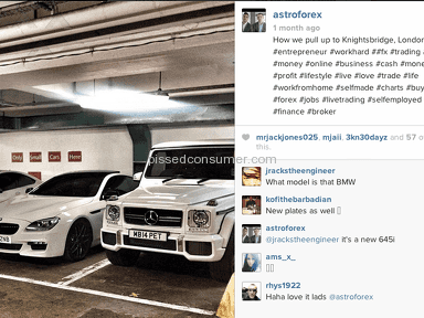 AstroFX - Forex Scam by Shaun Powell and Aman Natt from AstroForex partners with Aleem Iqbal of Platinum Executive Travel Rental Cars Birmingham