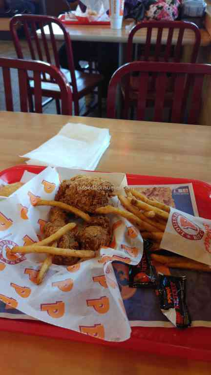 Popeyes Louisiana Kitchen 3 Piece Combo Meal Reviews And Complaints