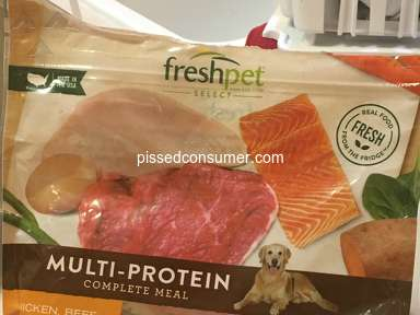 Freshpet - Spoiled food