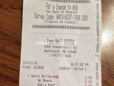 Taco Bell Fast Food review 272160