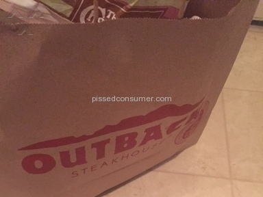 Outback Steakhouse Sanitary Conditions review 150576
