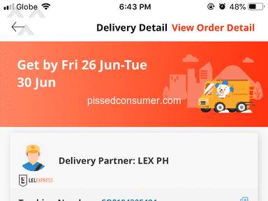 Lazada Philippines Lazada Express Philippines Courier Delivery Service review 659541