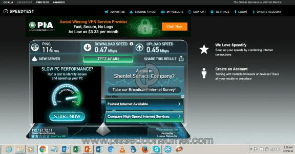 Shentel Internet Service