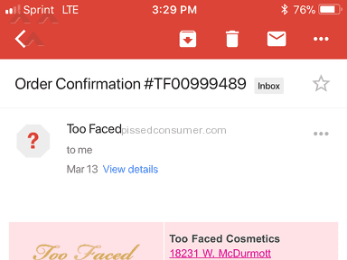 The Waiting Game ...Too Faced you should be ashamed!