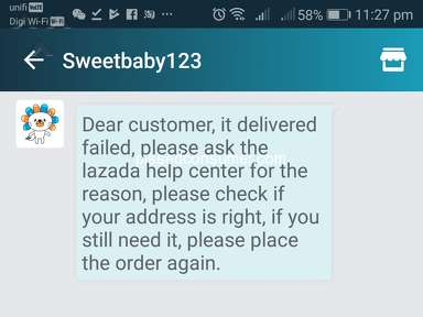 Lazada Malaysia Delivery Service review 291612