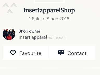 Etsy - Insert Apparel Review from Ramsgate, Kent