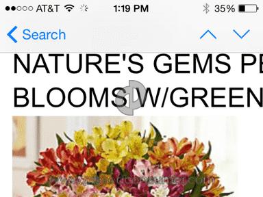 1800flowers Bouquet review 70667
