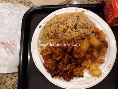 Panda Express - Issue with store