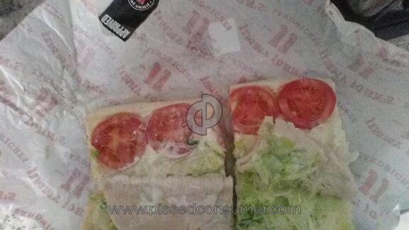 Jimmy Johns Sandwich