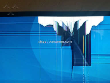 Vizio TV E550i-A0 Cracked Screen from Poor Quality Control