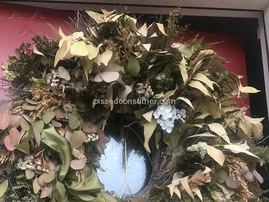 Homegoods - Wreath Review