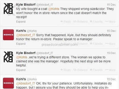 Kohls Top review 33285