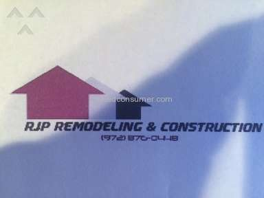 Rjp Remodeling And Construction Construction and Repair review 73827