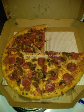 Pizza Hut 3 Topping Pizza
