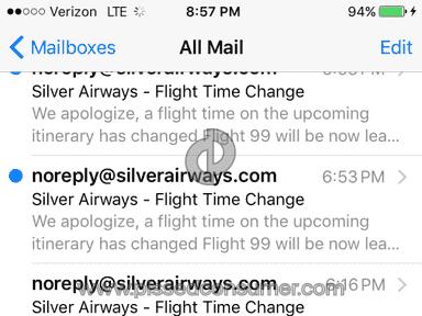 Silver Airways Flight review 120129