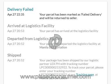Lazada Philippines - Theft
