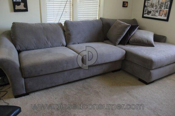 Living Spaces Evan Fabric Sofa