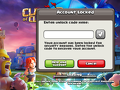 Supercell - UNLOCK MY ACCOUNT