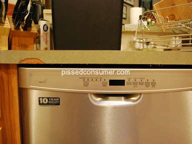 Nebraska Furniture Mart Dishwasher Installation review 315260