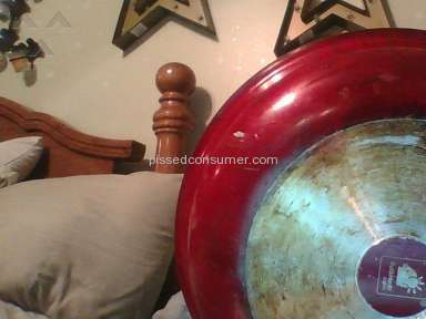 As Seen On Tv Red Copper Frying Pan review 191906