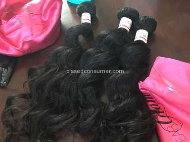 I Wear Glam Brazilian Hair Extension review 141482