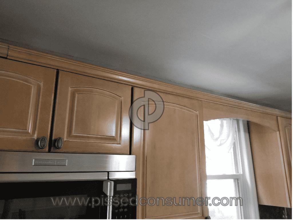 Kraftmaid No Porcelain Glaze Cabinets Apr 06 2019 Pissed Consumer