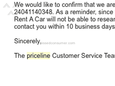 Warning Warning Warning, Priceline.com will turn away and leave you pissed