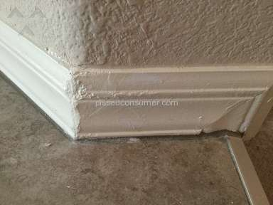 Defective workmanship Calatlantic Homes