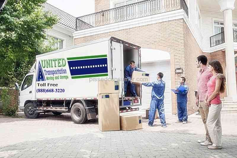 United Transportation Moving and Storage - My move was stress free & 2 United Transportation Moving and Storage Reviews and Complaints ...