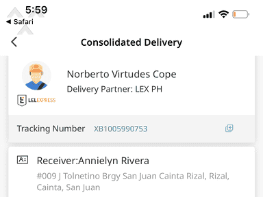 Lazada Philippines Customer Care review 495809