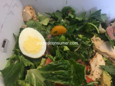 Panera Bread Green Goddess Cobb Salad review 280404