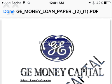 Ge Money Bank Loan Review from Cleveland, Ohio