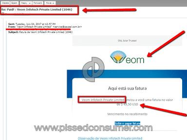 Veom Infotech Seo Service review 234192