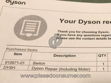 Dyson - Repair Ripoff!