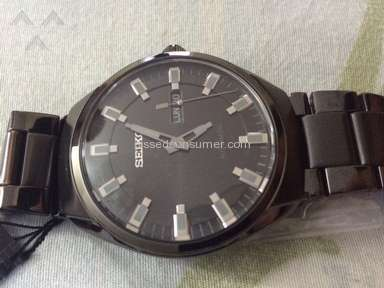 A defective Seiko SNKN43 from Jomashop