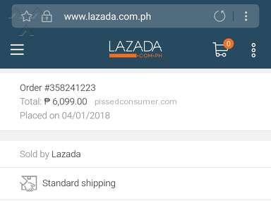 Lazada Philippines - For my daughter's bday gift