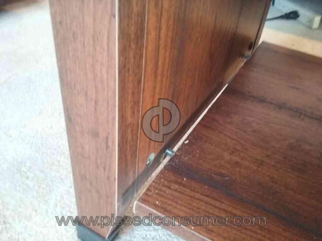 dp kitchen computer desk sauder brushed saunders dining furniture maple finish com amazon