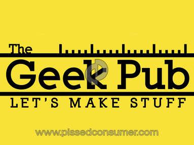 The Geek Pub - TheGeekPub Rules