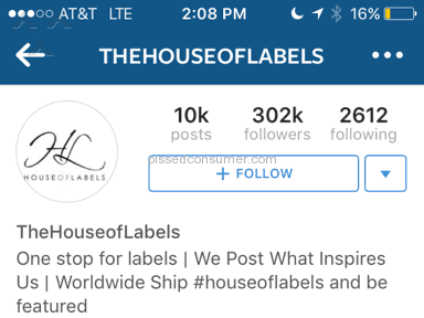 House Of Labels Website review 97753