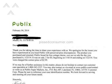 Publix Manager review 35293
