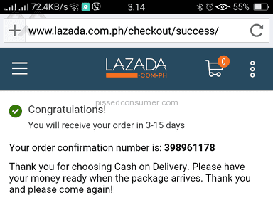 Lazada Philippines - Shipping Service Review