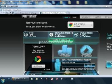 Mediacom, CAN NOT FIX ANYTHING, INTERNET SPEED GOES FROM 1 T0 11 MB ALL DAY