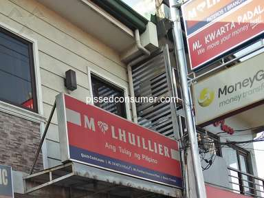 Mlhuillier - 100% rudeness for Pateros branch near in Mercury